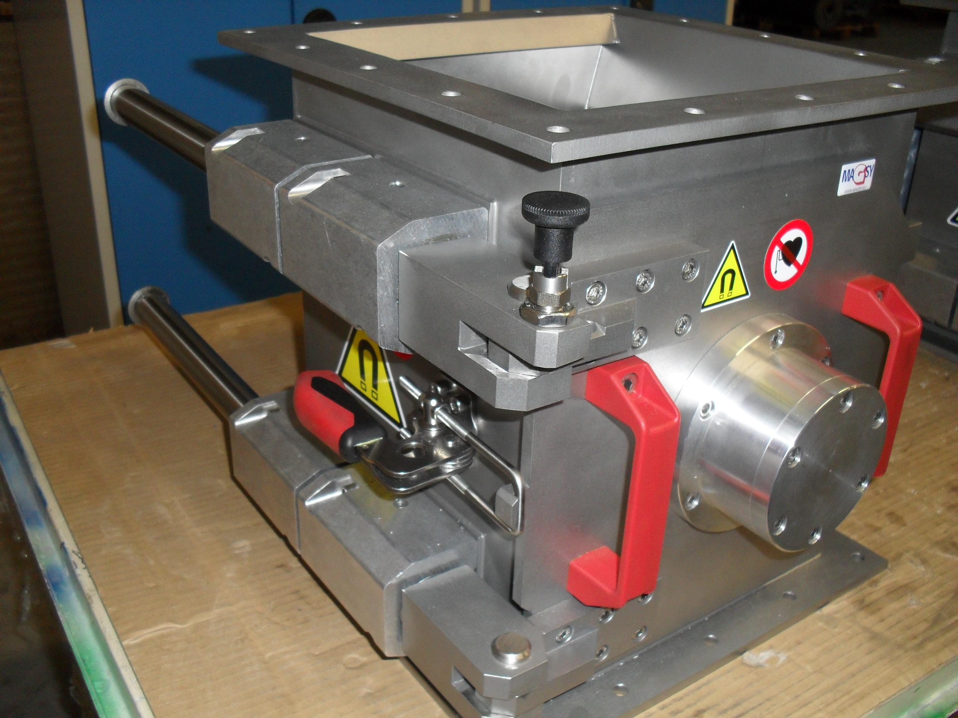 Rotační magnetický separátor MSVR