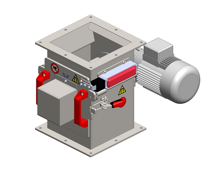 Rotační magnetický separátor MSVR - EKO