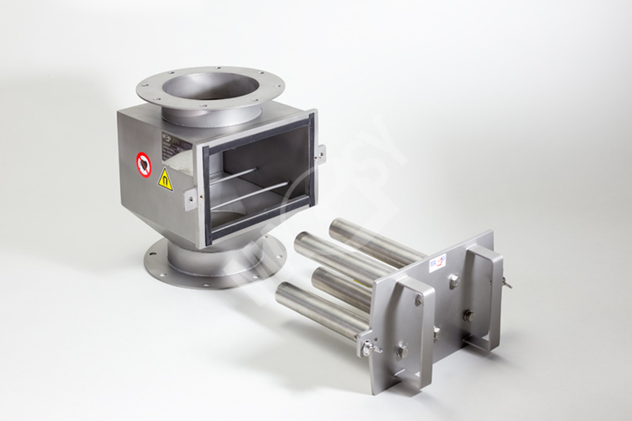 Magnetický separátor s výsuvnými rošty MSV - EKO