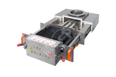Magnetický separátor s výsuvnými rošty MSV - UP