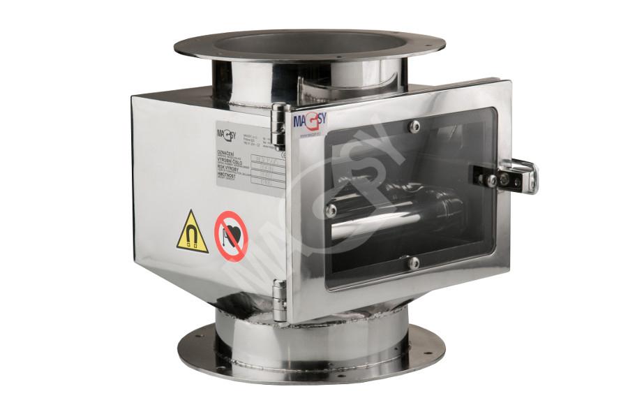Magnetický separátor s výsuvnými rošty MSV - Classic