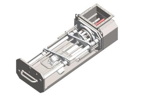 Rotační magnetický separátor MSVR Standard – UP